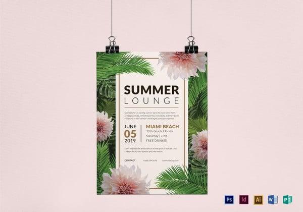summer-lounge-flyer-template