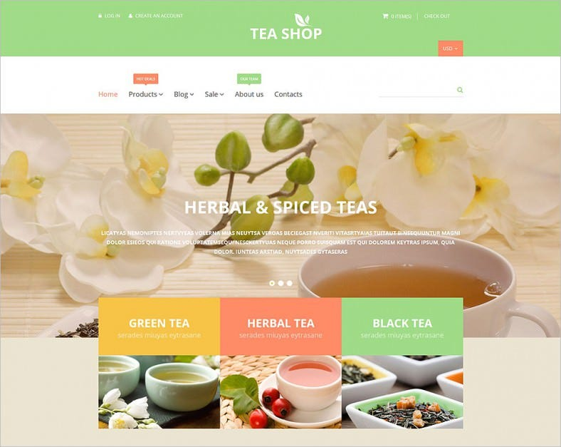 tea shop shopify theme 788x627