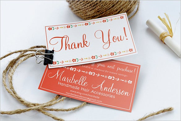 17 business thank you cards free printable psd eps format thank you business card design friedricerecipe Choice Image