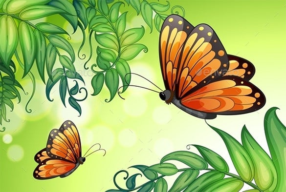 the best butterfly background download