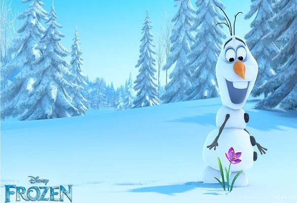 theme adorable olaf frozen