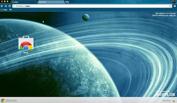 theme space planet