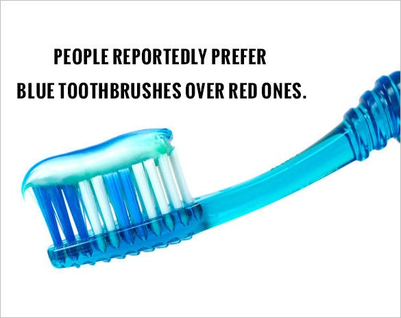 tooth paste fact