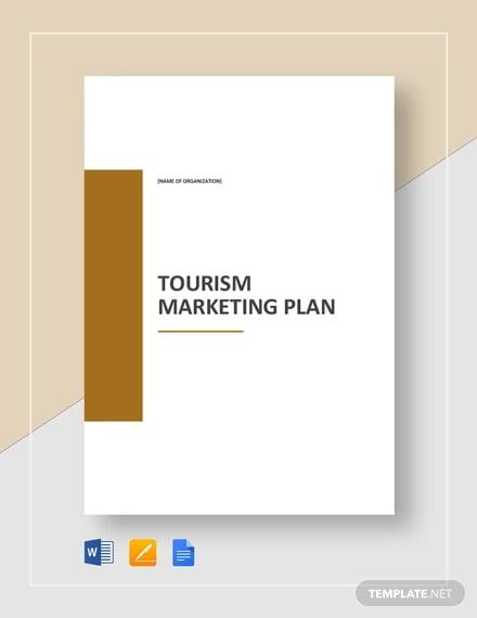tourism marketing plan template1