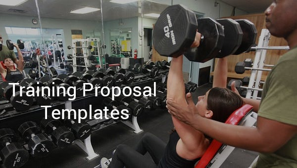 training proposal templates