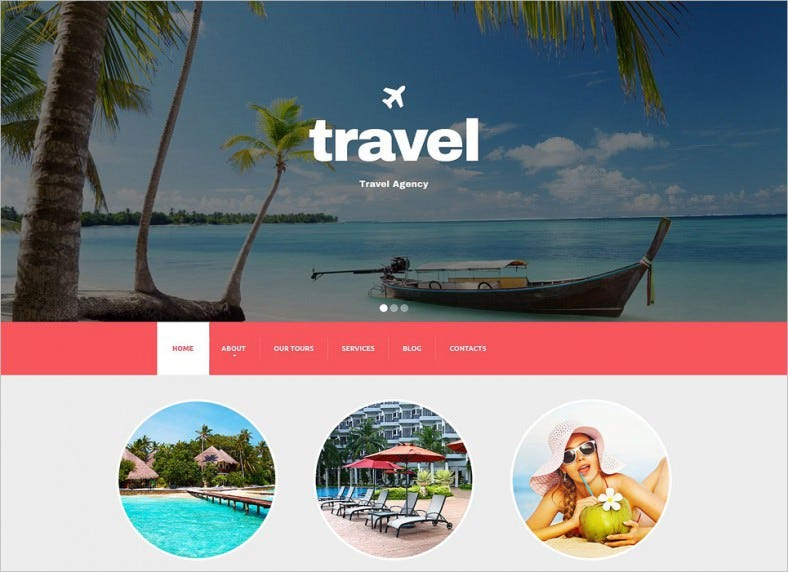travel agency responsive drupal template 788x572