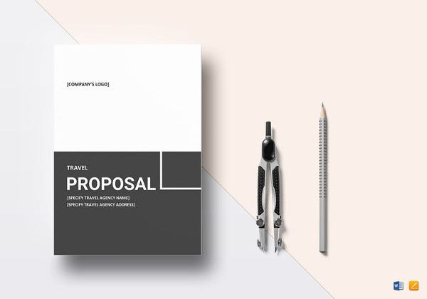 travel proposal template1