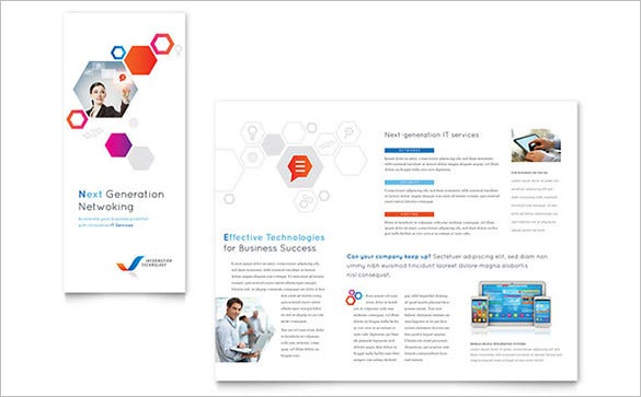 tri fold free in design template