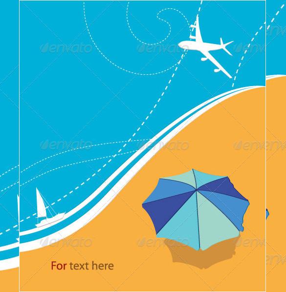 tropical summer vector illustration
