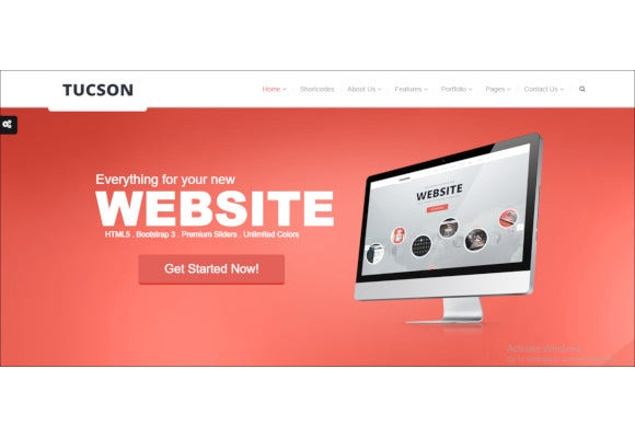 tucson responsive html5 template