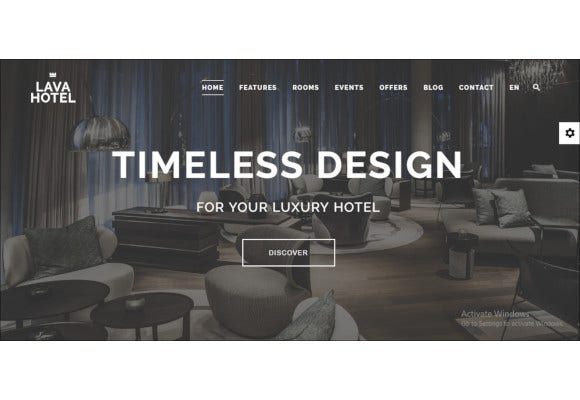 unique luxury wordpress theme