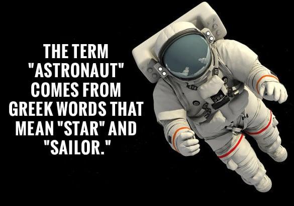 usefull astrounaut fact