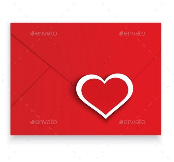 vector eps red envelop template download