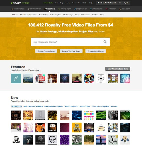 9+ Free Websites To Download After Effects! | Free & Premium Templates
