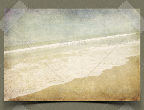vintage beach background premium download
