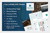WPJobus-HTML5-Resume-Download