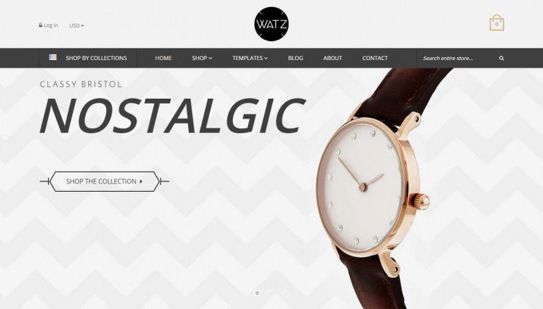 Watch Store Shopify eCommerce Theme