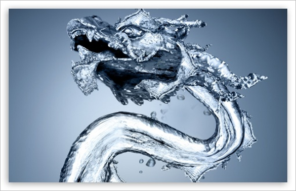 water dragon background for free