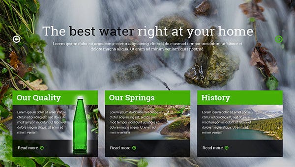 waterwebsitetemplates