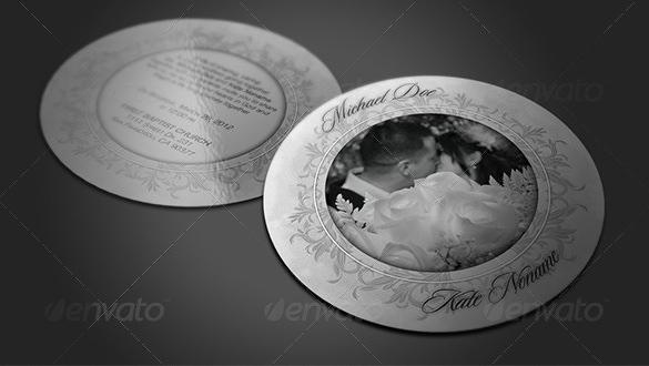 wedding card envelope psd template