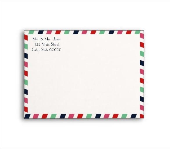 wedding invitation envelope letter download
