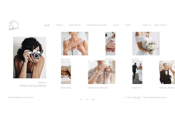wedding photography theme