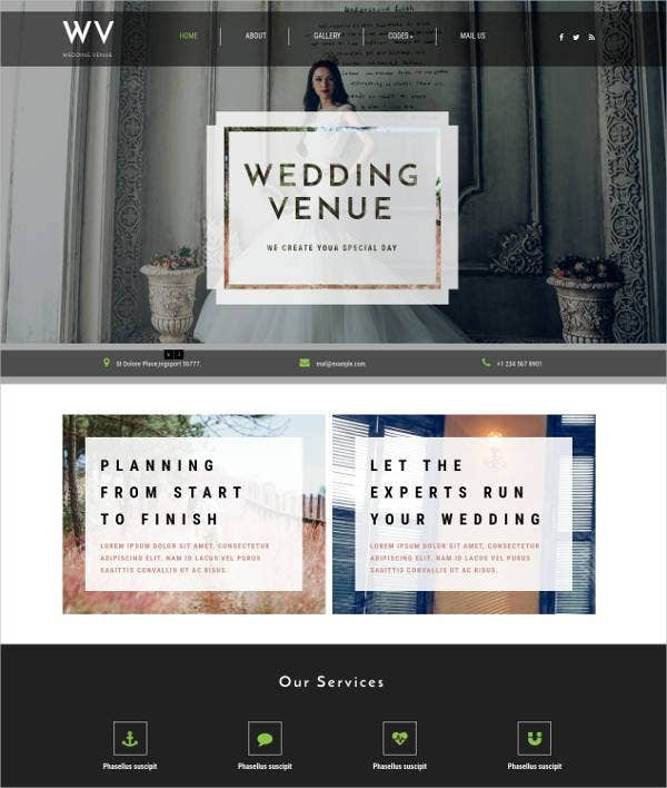 wedding-venue-responsive-website-template