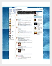 Wet Window Facebook Layout Business Background