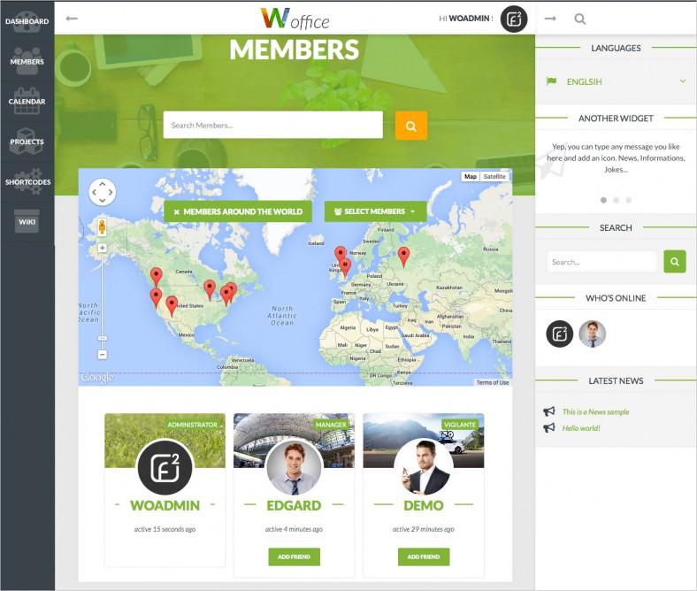 9+ New & Latest BuddyPress Themes | Free & Premium Templates