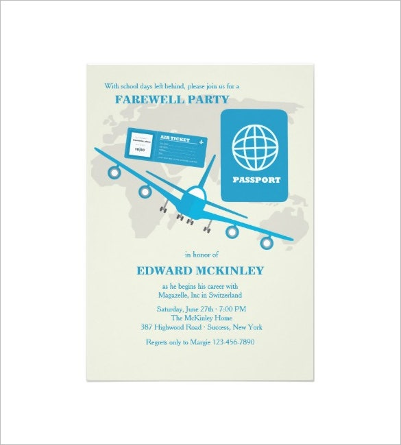 Farewell Card Template   Free Printable Word Pdf Psd Eps