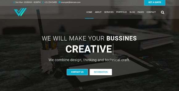 wroot multipurpose creative website template