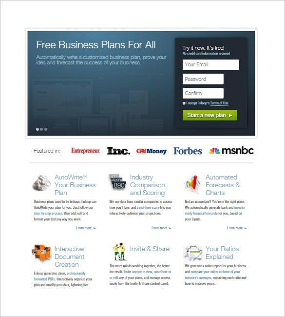 business plan maker download
