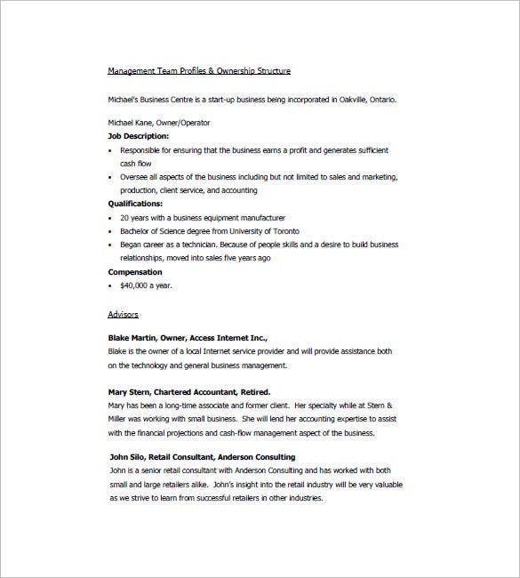 Retail business plan template 7 free sample example format business plan template for online retail business accmission Image collections