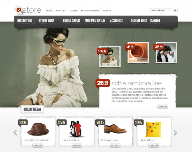 estore ecommerce wordpress theme 788x625