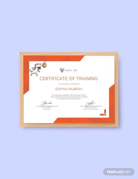 free dog training