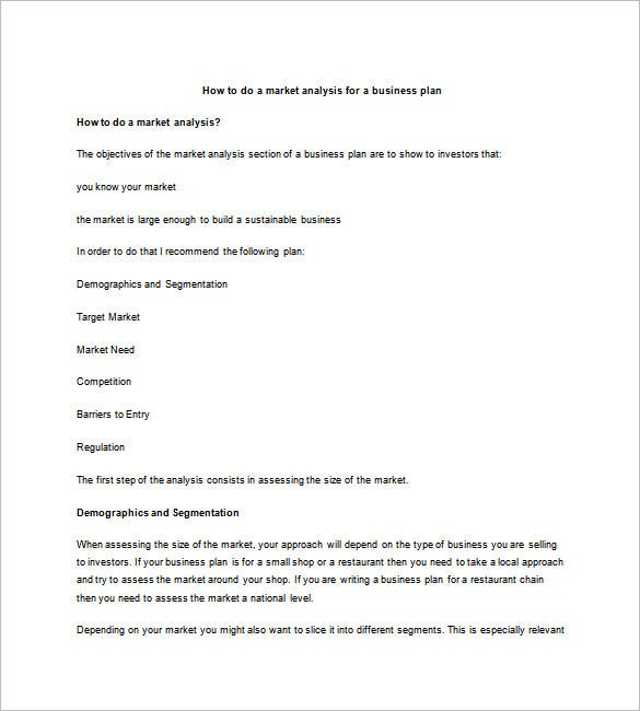 Marketing Business Plan Template – 10+ Free Sample, Example Format