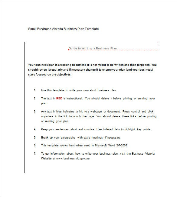Microsoft business plan template 18 free word excel pdf format businessc take a look at this extensive guide to writing a business plan in the format of numbered list for a small business plan as wajeb Gallery
