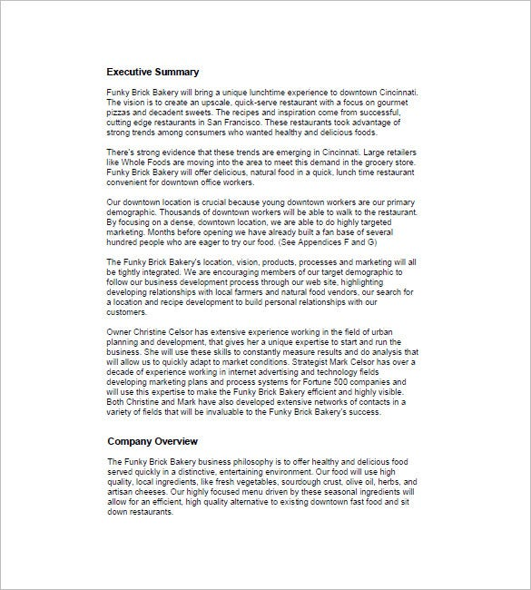 Bakery business plan template 15 free word excel pdf format the bakery business plan template is like a booklet which gives us the information regarding the set up of the bakery its motive executives serving along accmission