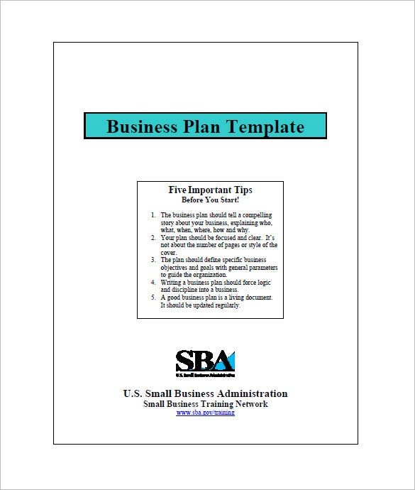 sample business plan free