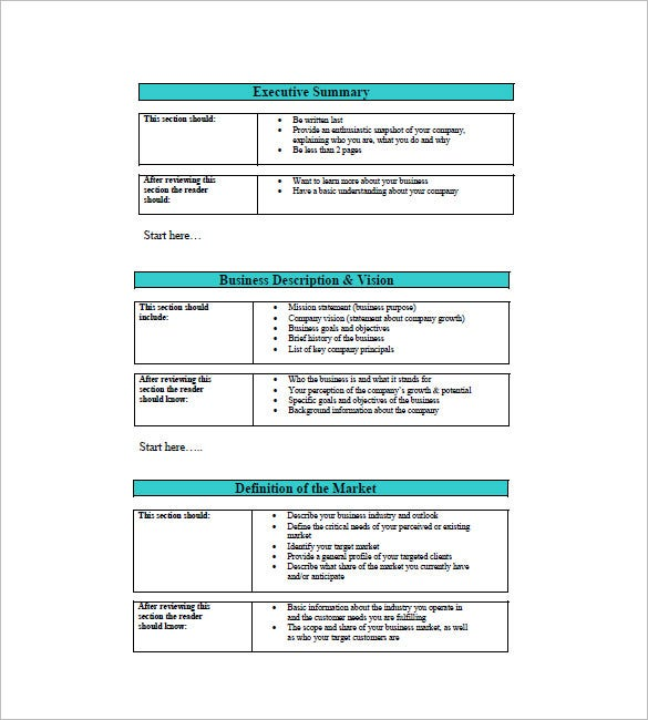 small business plan template1