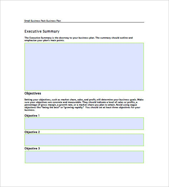 business plan template for existing business - 11 small business plan templates word excel pdf