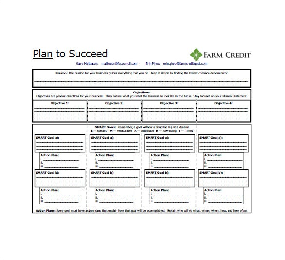 One page business plan template 11 free word excel pdf for Two page business plan template