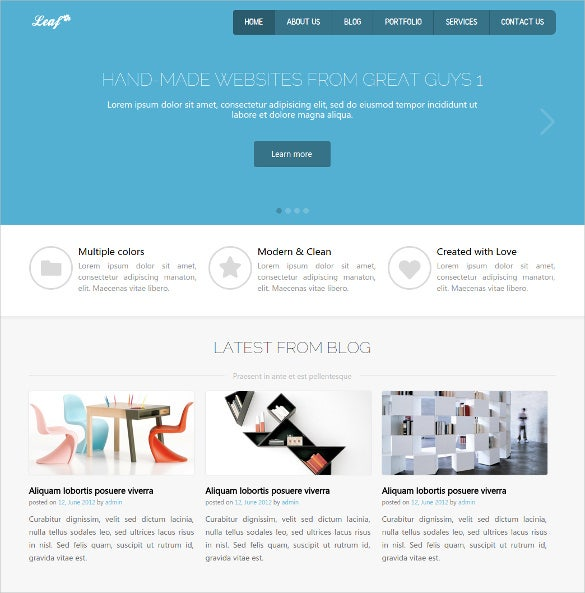 31 Responsive Website Themes Templates Free Premium