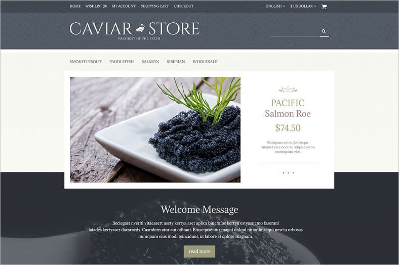Fantastic Open Cart Template
