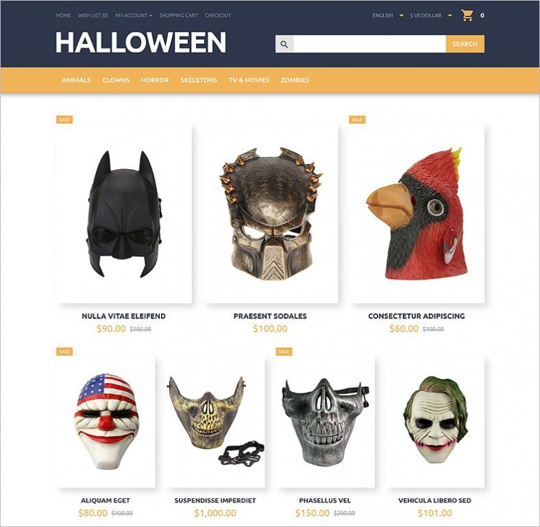 halloween opencart template 788x769