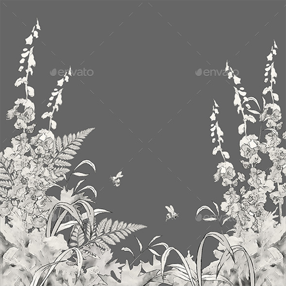 premium floral summer background for you