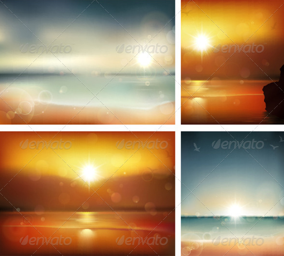 premium vibrant summer background for you