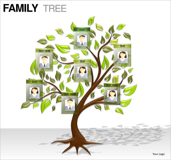 Family Tree Template For Kids Template Free Download Create