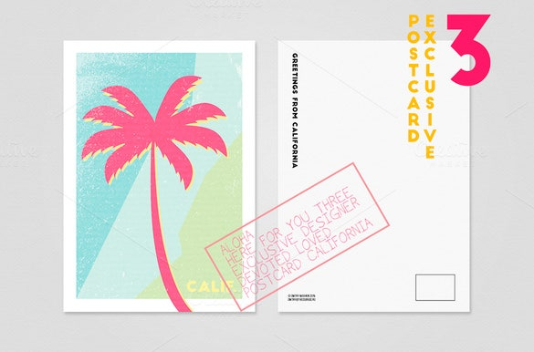 example palm card template download