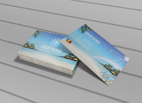 invitation palm card template download